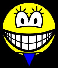 Thong smile