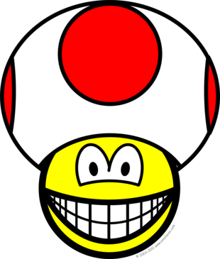 Toad smile