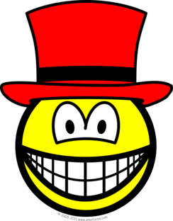 Red hat smile
