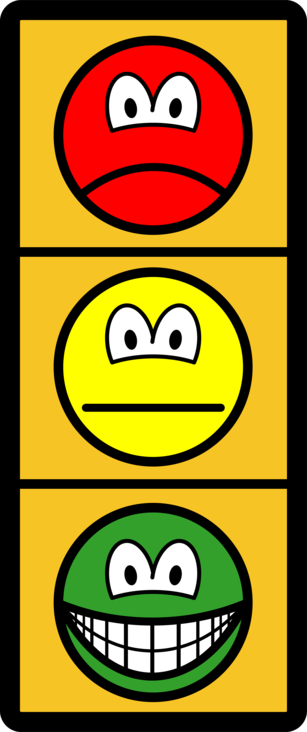 Traffic light smile