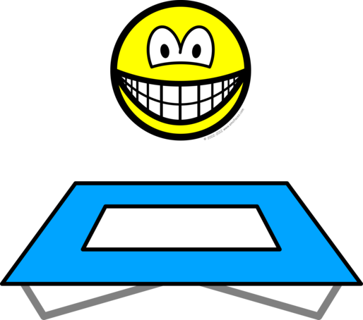 Trampoline smile