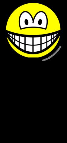 Tripod mounted smile