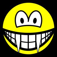 Vampire smile