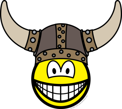 Viking smile