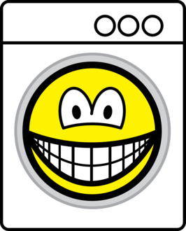 Washmachine smile