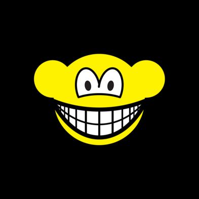 Web monkey smile