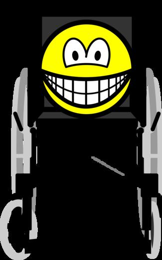 Wheelchair smile
