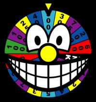 Wheel of fortune smile