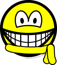 Yellow belt smile