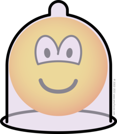 Condom emoticon