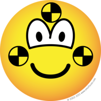 Crash test dummy emoticon