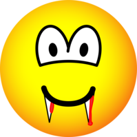 Vampire emoticon